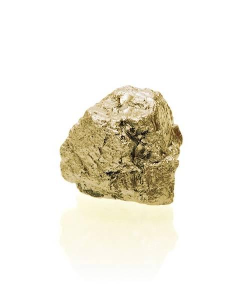 Świeca Candle Rock Small Classic Gold
