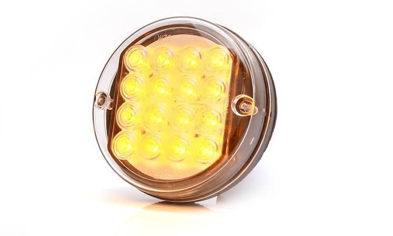 171 -  W32 24V lampa kier.jazd.okrągła