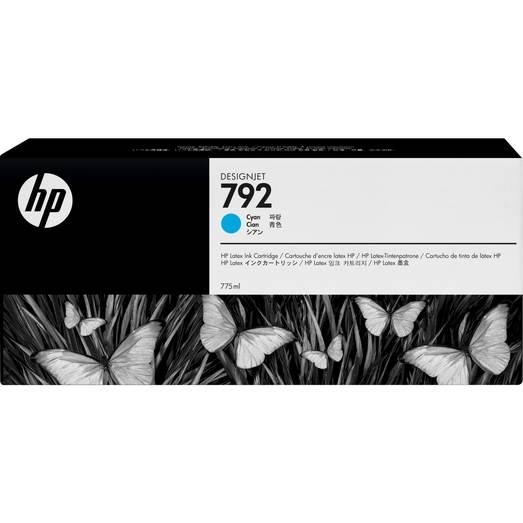 HP 792 wkład atramentowy Latex błękitny 775 ml