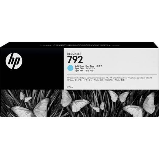 HP 792 wkład atramentowy Latex jasny błękitny 775