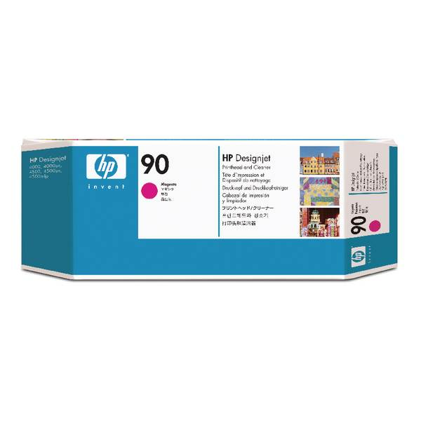 HP Głowica/No 90 magenta Print Cleaner