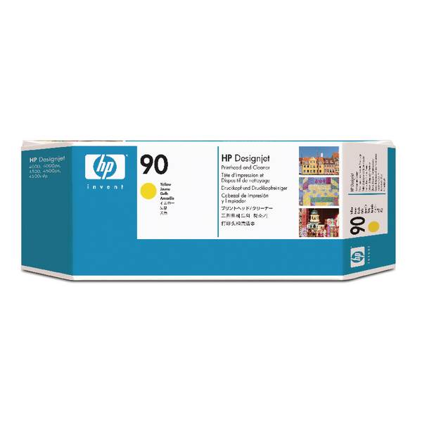 HP Głowica/No 90 yellow Print Cleaner
