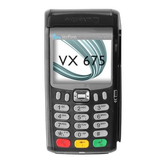 VERIFONE VX 675 – mały i przenośny