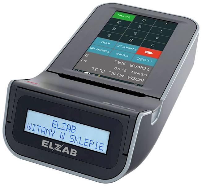 ELZAB KASA ONLINE K10 BT/GPRS popielata-jasno pop.