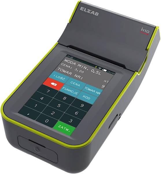 ELZAB KASA ONLINE K10 BT/GPRS popielato-zielona