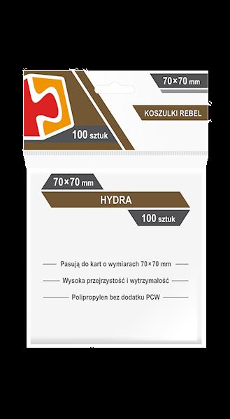 Koszulki na karty (70x70mm) Hydra 100 szt.