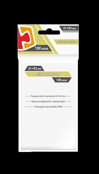 Koszulki na karty (41x63mm) Mini American 100 szt.