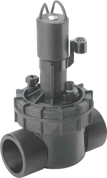 Elektrozawór EZP-23-54, 1''GW z reg. przepływu