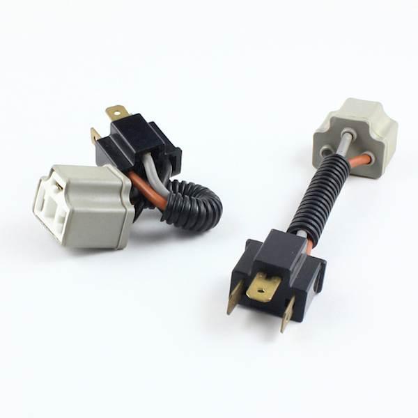 Adapter żarówki H4/R2 ceramiczny