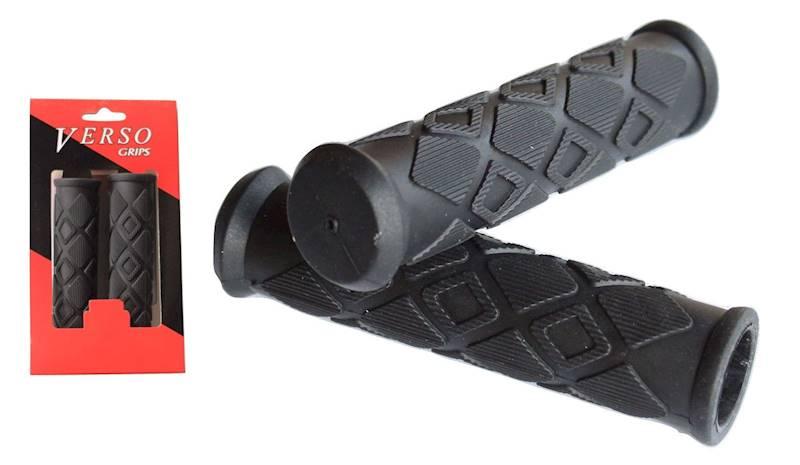 Chwyty kierownicy KARO SOFT czarny 125mm