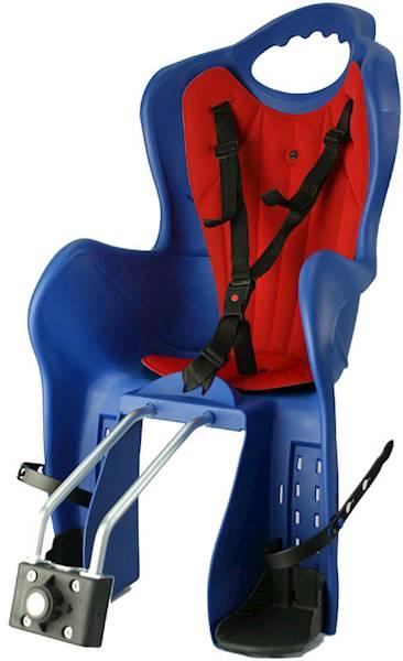 Fotelik rowerowy HTP Elibas na ramę niebieski