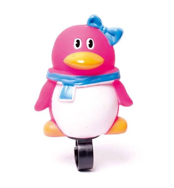 Dzwonek maskotka - pingwinek / karta