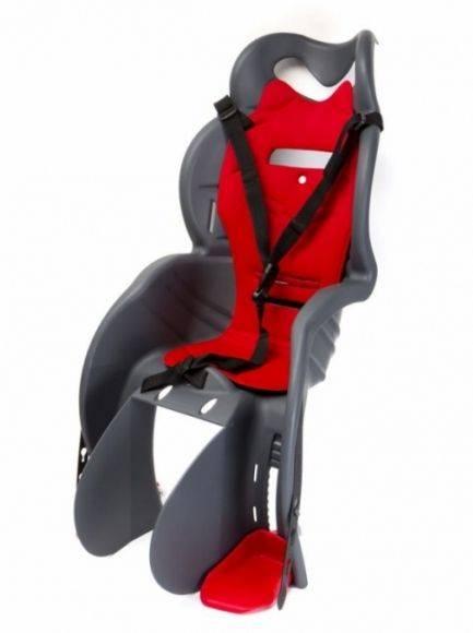 Fotelik rowerowy HTP Sanbas na ramę szary