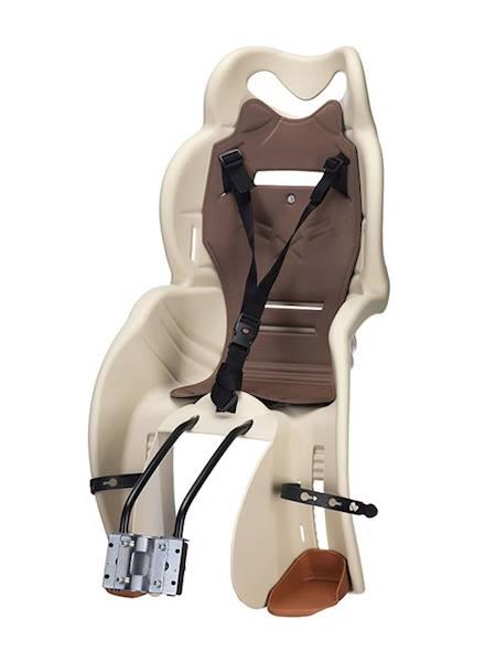 Fotelik rowerowy HTP Sanbas na ramę beżowy