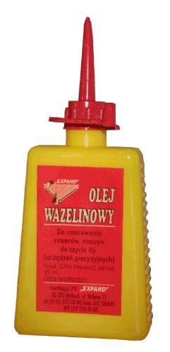 Olej uniwersalny parafinowy wazelinowy Shell 100ml