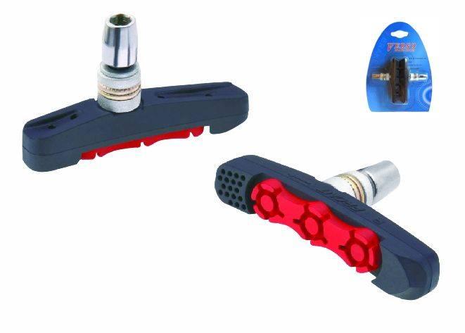 Klocki hamulca X-Treem Dual Stop Red 72mm