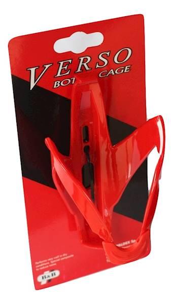 Koszyk bidonu Custom Race Red VERSO