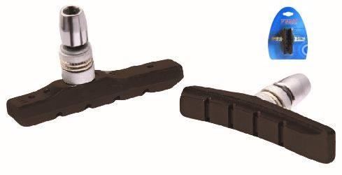 Klocki hamulca POWERSTOP 3.0 niesymetryczne 72mm