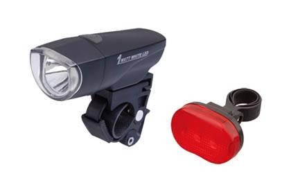 Lampki kpl. przód 1W + tył 3led smart design