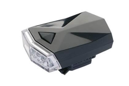 Lampka przód 4-LED gumki czarna