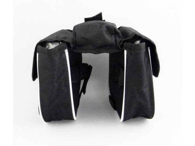 Sakwa / torebka na ramę 2-komorowa