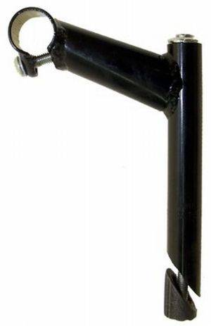 Wspornik kierownicy 25.4/ 80/150  stalowy czarny