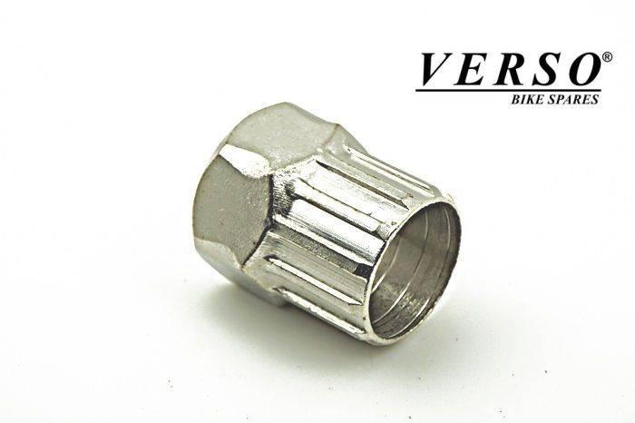 Klucz do kaset srebrny utwardzany SHI