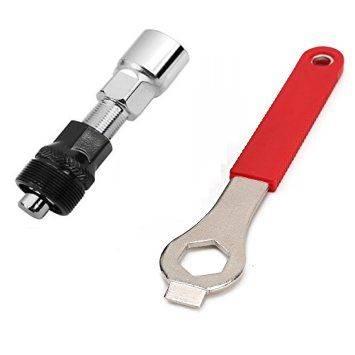 Ściągacz korby z kluczem