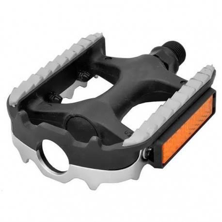 Pedały COMBI - Trekking - MTB + guma NON SLIP