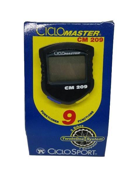 Licznik CicloSport CM 209  9-funkcji