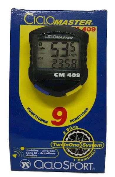Licznik CicloSport CM 409  9-funkcji