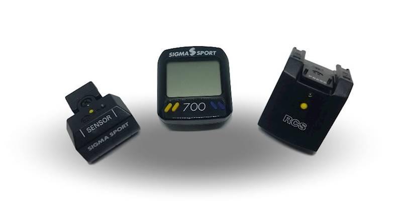 Licznik Sigma-Sport 700 Baseline RSC bezprzewodowy