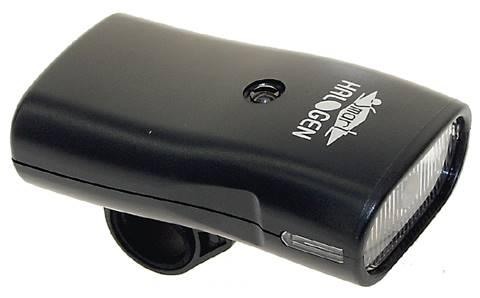 Lampka przód halogen bateryjna+ładowarka 230 SMART