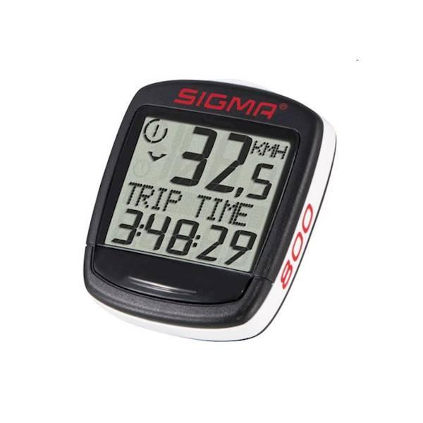 Licznik rowerowy Sigma-Sport BC-800 / 8-funkcji