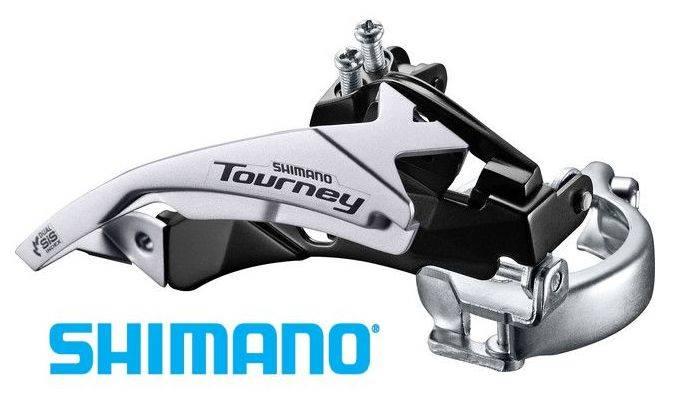 Przerzutka Shimano przód Tourney TY500 Top/Down