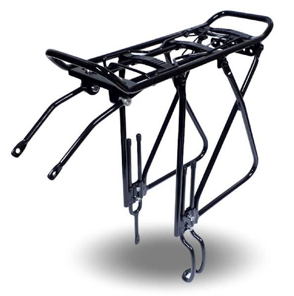 Bagażnk aluminiowy DISC BRAKE (700c 28 29) czarny