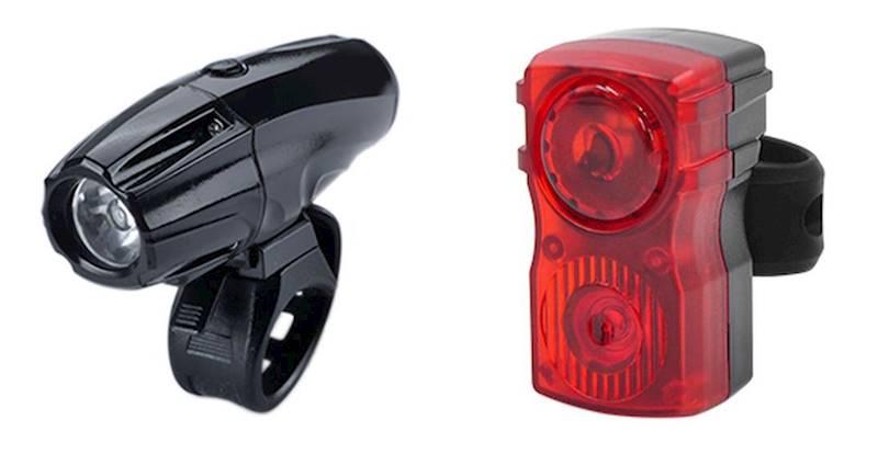 Lampki komplet SHARK 1000 Cree XM-L + tył na USB