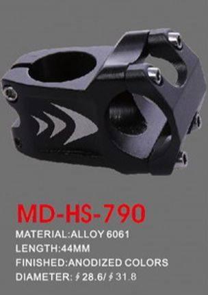 Wspornik kierownicy DH ahead 28.6 / 31.8 - 44mm