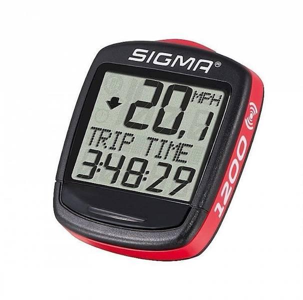 Licznik rowerowy Sigma-Sport BC-1200 / 12-funkcji