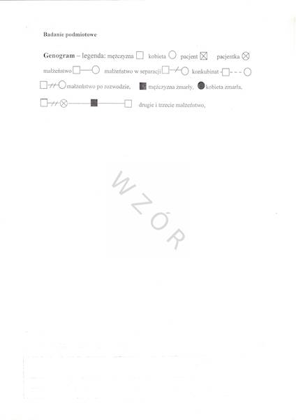 OPD/12 Historia choroby poradni medycyny paliatywnej A4/100szt