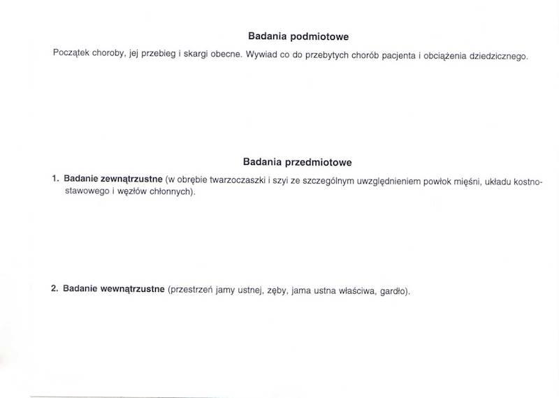 ST-7 Karta Choroby Chirurgii Stomatologicznej 2xA5c/100szt