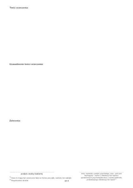 PA/01 Karta badania psychologicznego 2xA4c/100szt