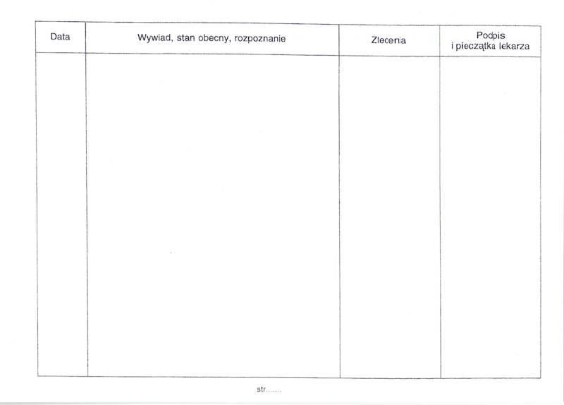D-1Z Karta zdrowia dziecka A5 zeszyt 12-kartkowy