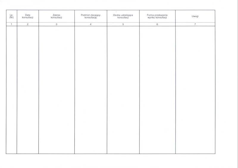 LP-44 Księga udzielonych konsultacji A4b/100k Spirala
