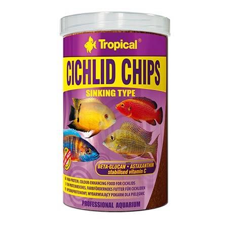 CICHLID CHIPS  250ml/130g