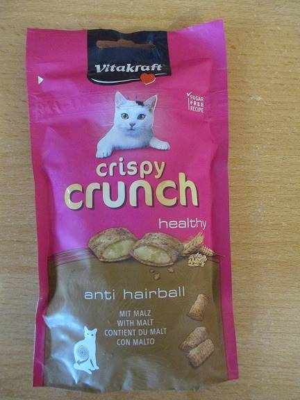 VITAKRAFT CAT CRISPY CRUNCH słód 60 g