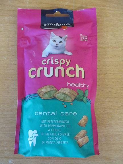 VITAKRAFT CAT CRISPY CRUNCH dental 60 g