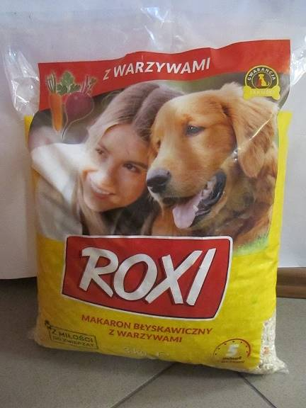 MAKARON ROXI 1 kg z WARZYWAMI bez gotow.