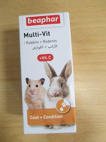 BEAPHAR MULTI-VIT + VIT C 20ml - DLA GRYZONI
