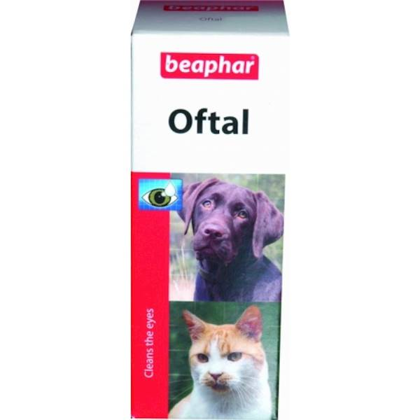 BEAPHAR OFTAL 50ml-krople do oczu